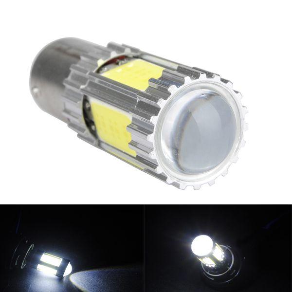 1156 Ba15s P21w Cob 11w Car White Led Tail Reversing Brake Light Bulb Bulb White Lead Light Bulb