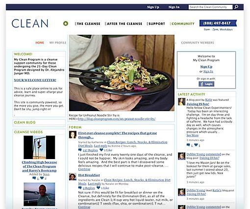 Junger Clean Food List