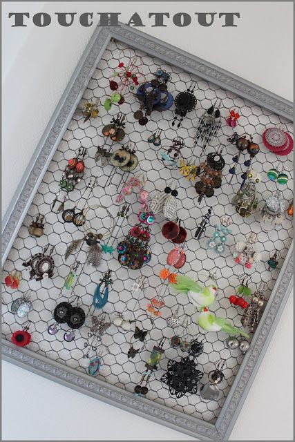 Häufig 25+ unique Porte bijoux ideas on Pinterest | Necklace holder  NE38
