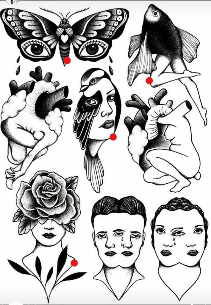 Tattoo Of Old School Designs Tattoo Flash Inspirations Old School Tattoo Designs Tattoo Flash Art Flash Tattoo