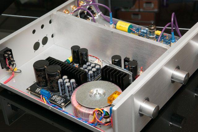 Diy 12ax7 Tube Preamp Diy Electronics Diy Hifi