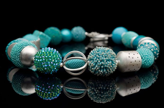 Contemporary Beaded Jewellery by Ulli Kaiser