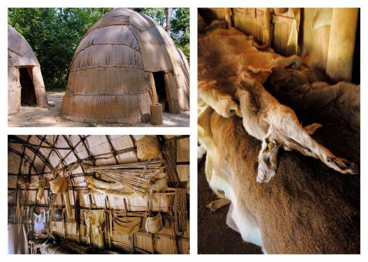 Powhatan Wigwam at Jamestown Settlement | Powhatan ...  Powhatan Wigwam...