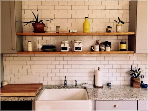Kitchen Storage Shelves Nz Clever Small Kitchen Storage Ideas Kitchen Storage Long Floating Shelves Floating Shelves Kitchen Reclaimed Wood Floating Shelves