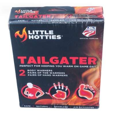 It's hard to enjoy the tailgate when an Artic wind starts whipping through the parking lot. Or, it would be if you hadn't thought ahead and brought this Little Hotties TAILGATER Tailgater Warming Pack For Two along with you. #workingperson #brandsthatwork #littlehotties #handwarmer #warm #football #tailgate #tailgating #footballseason https://workingperson.com/little-hotties-tailgater-warming-pack-for-two-tailgater.html?utm_medium=social&utm_source=Pinteresttailgater