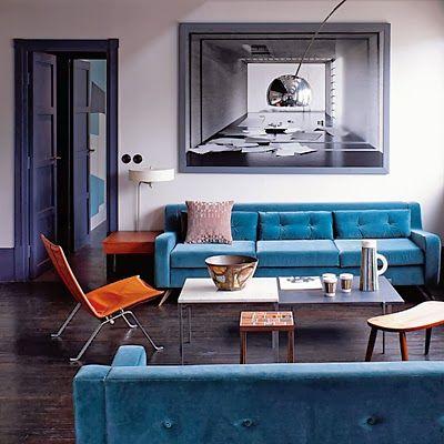 (colour blocking against dark floor inspiration) colours, modern, minimalist