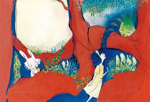 Alice in the wonderland on Behance
