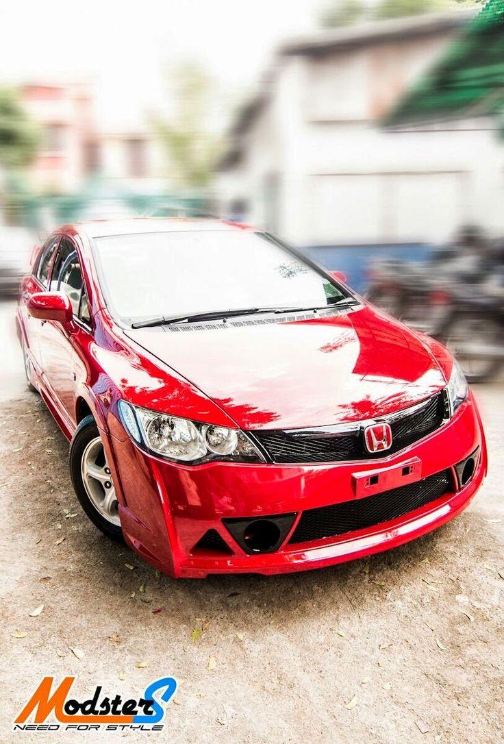 Honda civic mugen rr body kit custom honda civic honda civic free flow exhaust