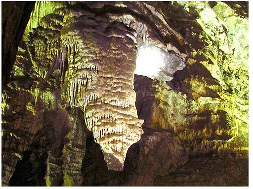 Inside Sterkfontein Caves