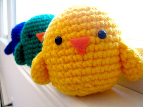 Crochet chicks pattern