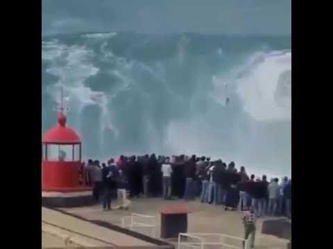 Сумашадшая волна Португалия Crazy Wave Portugal