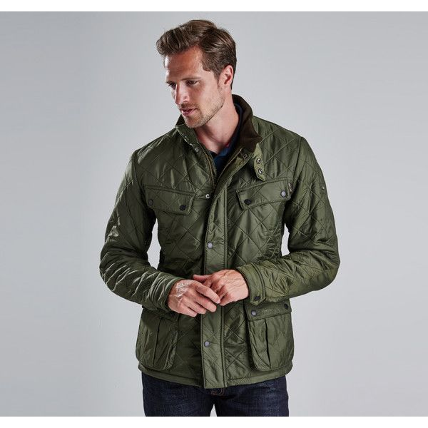 barbour international ariel polarquilt quilted jacket