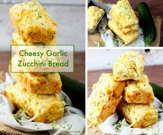 You'll Love This Cheesy Garlic Zucchini Bread   The WHOot