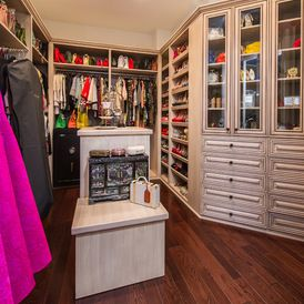 Mediterranean Closet by ForTech Solutions