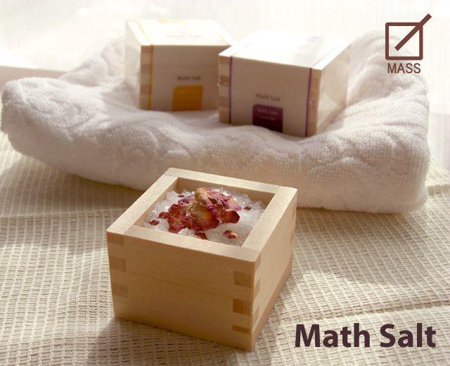 【楽天市場】入浴剤 【Math Salt(マスソルト)】:枡工房枡屋