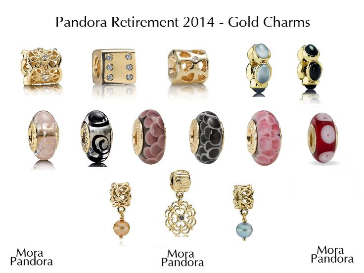 Global Pandora 2014 Retirement List
