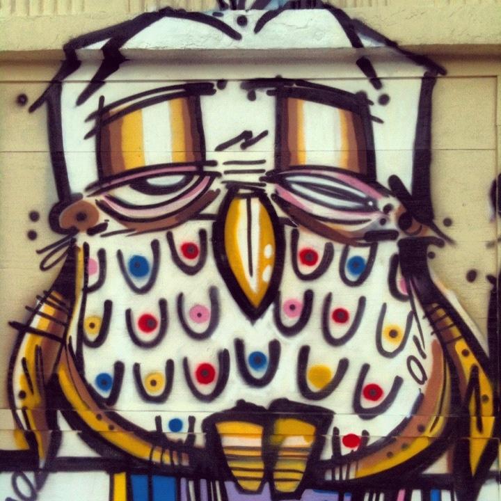 Detail from Lebo's graffiti