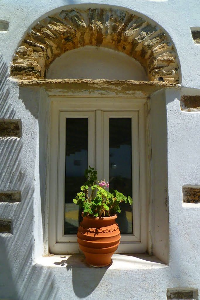 traditional window in Kampos-Tinos-Hellas Photo from Kambos in Tinos   Greece.com