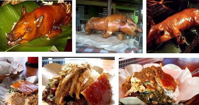 "Bali traditional food call ""Babi Guling"""