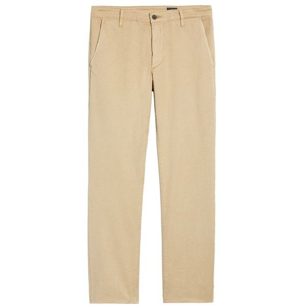 Men's Ag Marshall Slim Straight Leg Chino Pants (10.150 RUB) ❤ liked on Polyvore featuring men's fashion, men's clothing, men's pants, men's casual pants, sulfur sand dune, mens pants, mens chinos pants, mens slim pants, mens slim fit chino pants and mens chino pants
