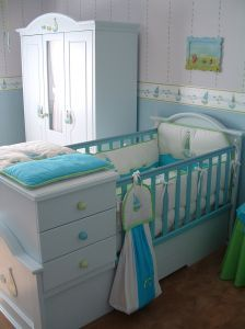 Beatiful girls nursery
