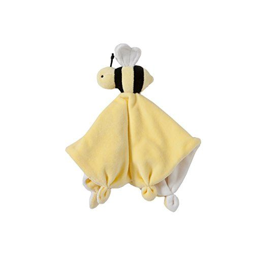 Burt's Bees Baby - Hold Me Bee Lovey Plush, 100% Organic Cotton (Sunshine) - Our velour lovey will give endless snuggles day and night. Chemical-free, safe for teethers and washes easily.