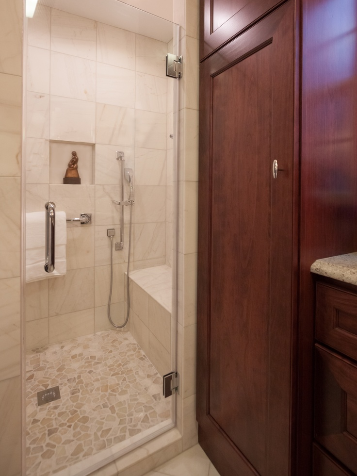 12 best images about standing shower bathroom on pinterest