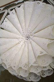 The other day I wrote about finding a bunch of paper doilies  at the thrift store. I have some plans for a lot of them but I have...