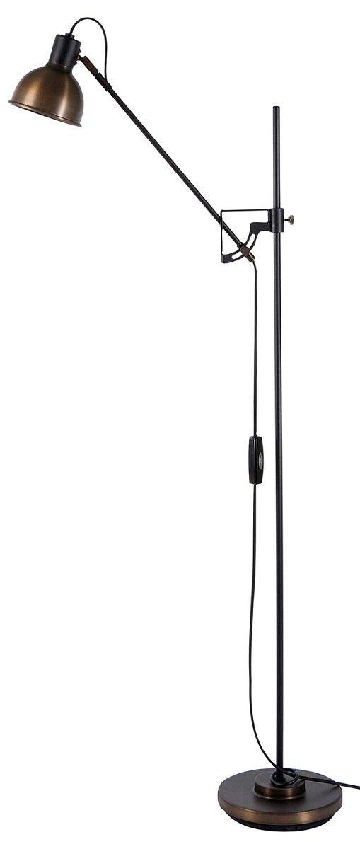 Elegant Stehlampe in oxid Stehleuchte Magnum LED dimmbar Hergestellt in Schweden von Belid hier im