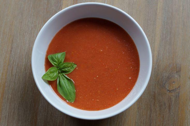 Gazpacho - kalte Suppe für heiße Tage