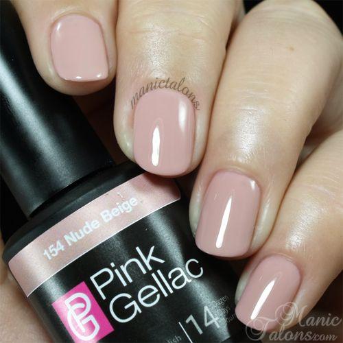 Pink Gellac Gel Polish Nude Beige