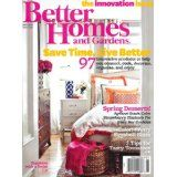 Better Homes and Gardens (1-year) (Magazine)By Meredith