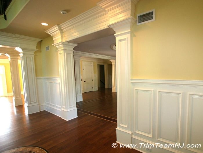 Images Of Raised Fireplases | ... Room Openings With Columns. Raised Panels  On