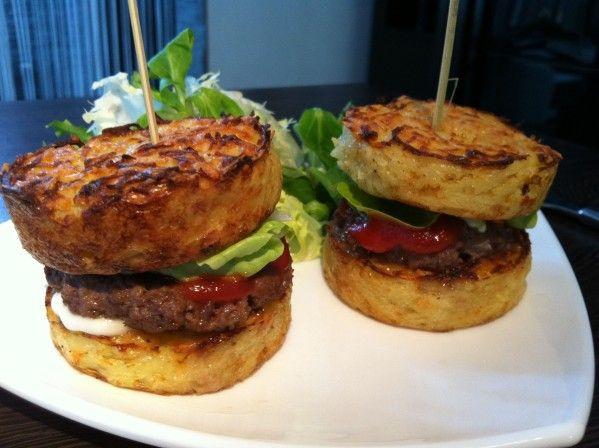 Galettes de pommes de terre façon Hamburger