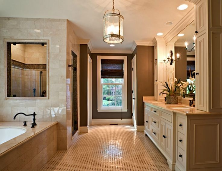 beautiful master bath traditional home decor