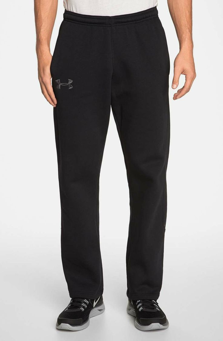 Under Armour 'Charged Cotton®' Storm Pants  | $65 | gifts for the sporty guy | mens pants | sports | menswear | mens style | wantering http://www.wantering.com/mens-clothing-item/under-armour-charged-cotton-storm-pants/afO3G/