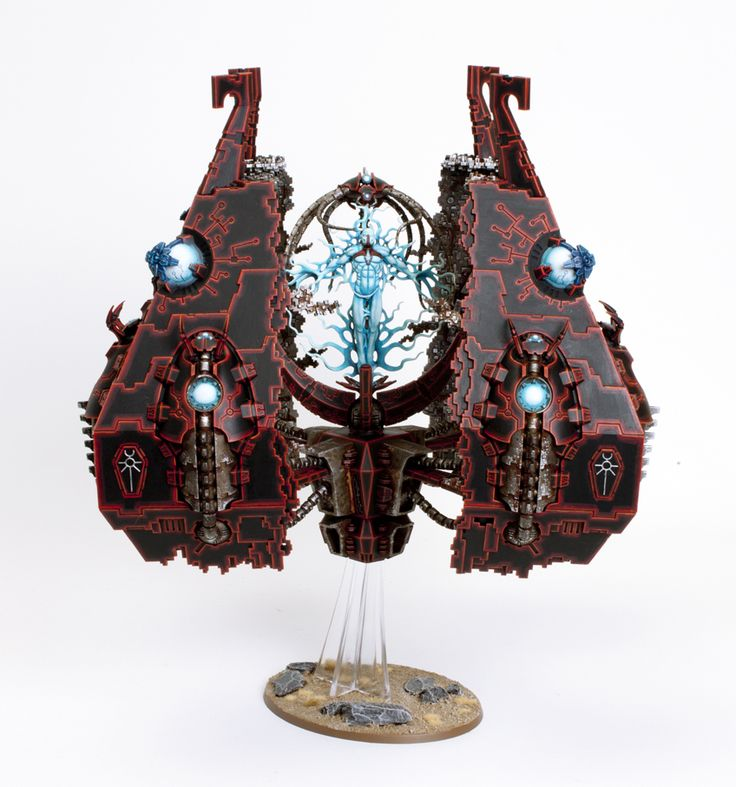 40k - Necron Tesseract Vault by Garfy via taleofpainters.blogspot.co.uk