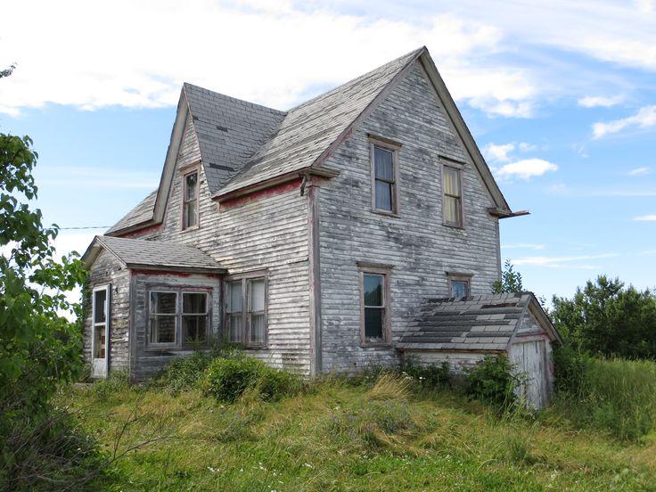 photo que j 39 ai prise d 39 une vieille maison abandonn e au