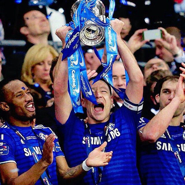 We are Capital One Cup champions!!! #CFC #WembleyIsBlue #CFCWembley #LeagueCup  #JohnTerry #Chelsea #CFC #ChelseaFC #ChampionsOfEurope #ChelseaFootballClub #StamfordBridge #Cobham #SW6 #stars #stunning #igdaily #ForeverBlue #ChelseaFans #CFCFamily EverythingEnglish.com #CFC #ChelseaFC #ChelseaFootballClub #Blues #CareFree #StamfordBridge #EnglishPremierLeague #EPL #Football #ivanonic #SoccerGear #EverythingEnglish