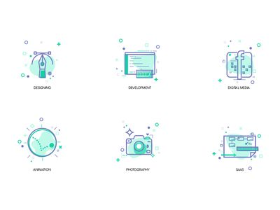 Digital Services Icons