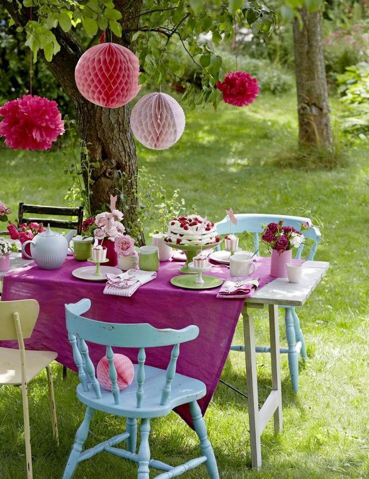 Így dekoráld az asztalt a kerti partikra! - Lakáskultúra magazin