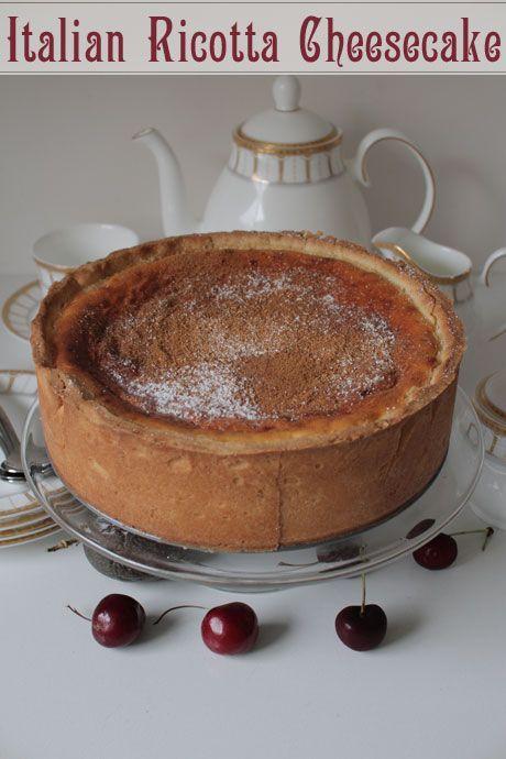 italian ricotta cheesecake Valentine Days | #ITALIAN #cheesecake #cheesecake #ricotta #recipes #recipes #nyrockphotogirl ♥ #KNOCKOUT # RECIPE