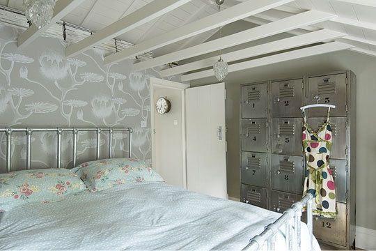Decorating with Vintage Metal Lockers