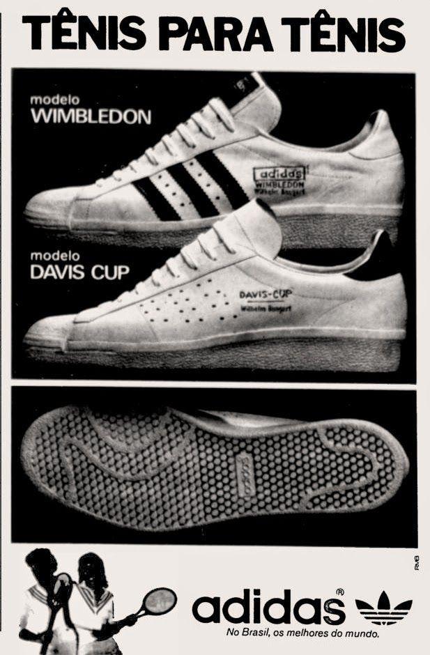 214276a8563e7 Anúncio tênis Adidas - 1976   Remember - Nostalgia - Old Times ...