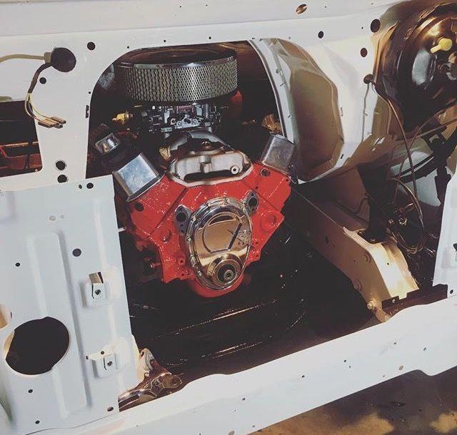 GMC RALLY STX Freshly painted engine bay