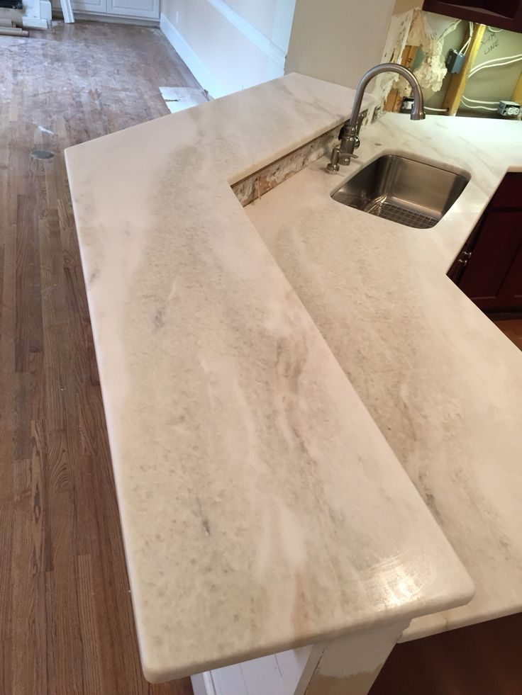 Mystery White Honed Marble