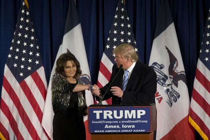 So, Uh, Here's The Full Text Of Sarah Palin's Bizarre Trump Speech