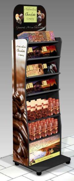 Newfoundland Chocolates POP Shelf Display