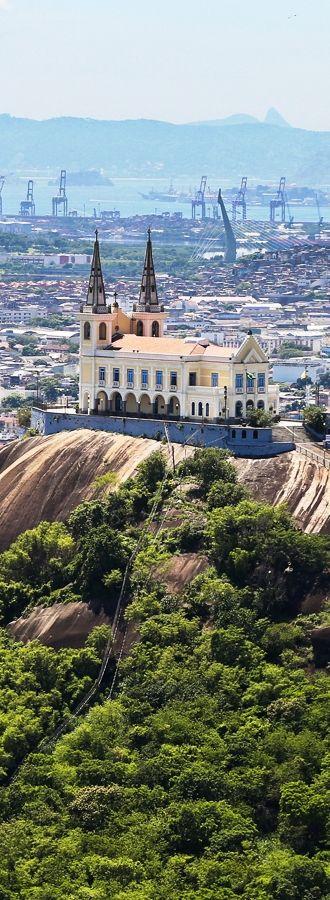 Igreja da Penha, Rio de Janeiro, Brasil