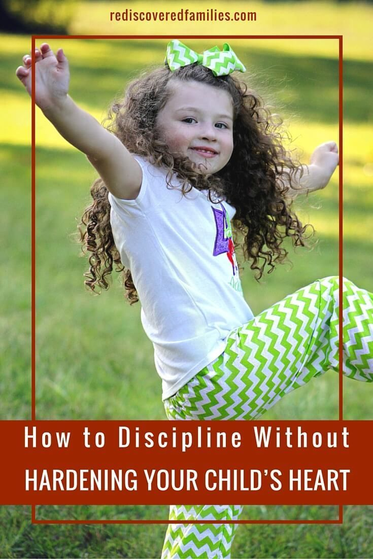 Wondering how to discipline your child without hardening their heart? Add these…